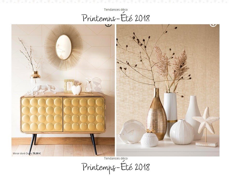 catalogue maisons du monde 29 mars 20 septembre 2018. Black Bedroom Furniture Sets. Home Design Ideas
