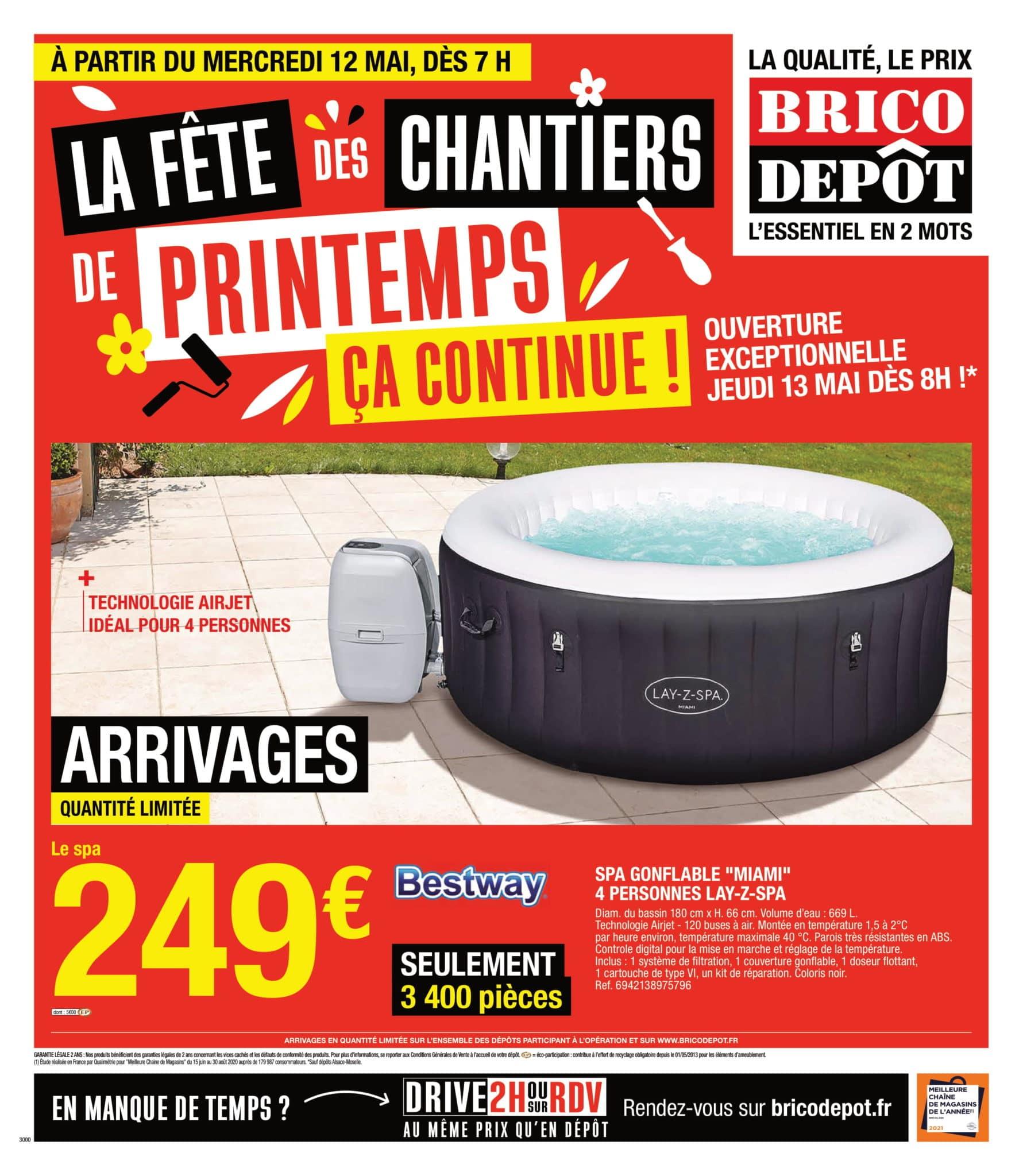 Catalogue Brico Dépôt 12 mai - 04 juin, 2021