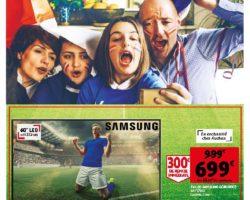 Catalogue Auchan 26 mai - 15 juin, 2021. Tous ensemble pour gagner l'Euro!