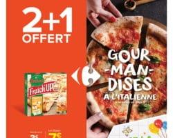 Catalogue Carrefour Market 15 juin - 27 juin, 2021. Gourmandises à l'italienne!