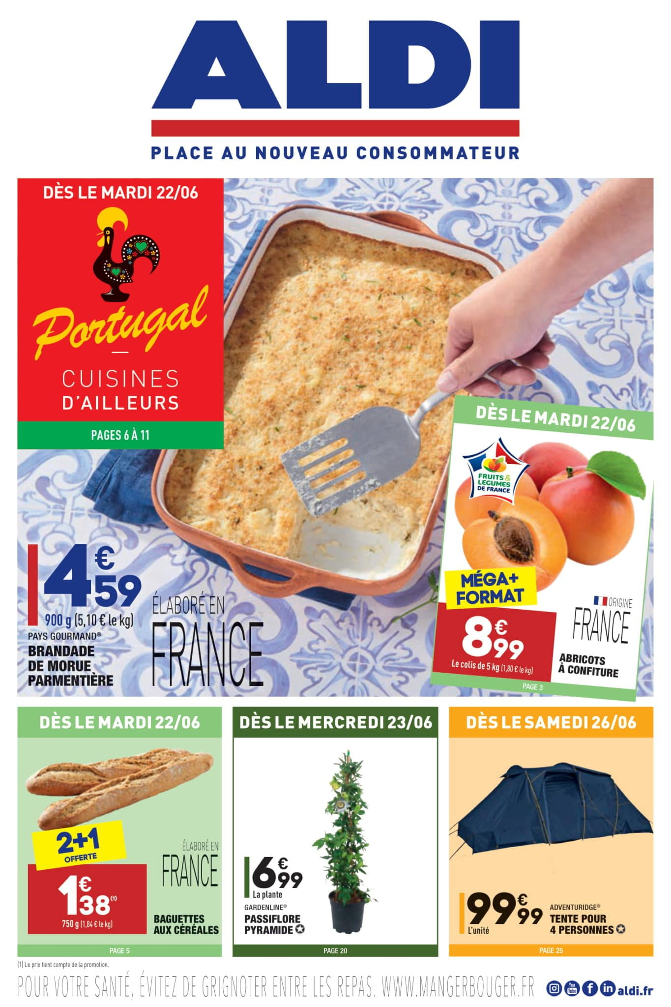 Catalogue Aldi 22 juin - 28 juin, 2021